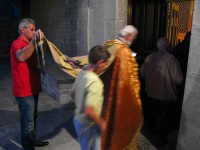 Holy Friday Liturgy in one of the villages of the Zagori area in the National park of Vikos-Aoos