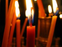 Each candle is a prayer