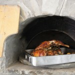 Traditional wood fired stone oven in a village of the Zagorochoria in the National Park of Vikos-Aoos