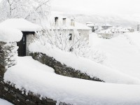 Winter of 2012 was very white. This is the village of Dilofo in Epirus, Greece