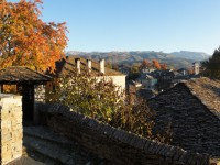 Autumn in the traditional stone villages of the National Park of Vikos-Aoos