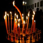 Orthodox Easter in a traditional fashion in the mountains of Pindus