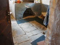 A traditional wood oven in an old house in one of the more than 50 villages of the Zagori area in the National Park of Vikos Aoos