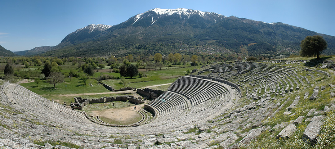 The shrine of Dodona was regarded as the oldest Hellenic oracle and is located in Epirus, Greece