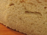 Healthy looking bread ... open crumb and slightly sour in taste