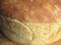 Golden crust, chewy, aromatic, sour and completely handmade