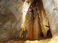 The 90m deep cave near Tsepelovo village in Central Zagori