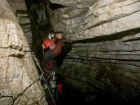Speleology in the Zagori region of Epirus in Greece