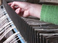 Some fine tuning of the loom   Zagori, Pindus, Greece