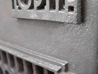 Detail of the wood stove