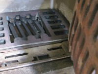 Grate, shaker and insulation in place