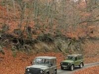 "Driving through the ""fallen autumn leaves"" in Grevena"
