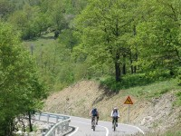 Bicycling from Zakas village to Labda village in Grevena, Greece