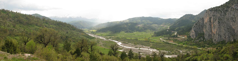 Venetikos river valley in Grevena