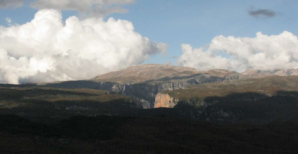 The gorge of Vikos in the National Park of Vikos-Aoos