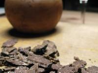 Shaving truffles for fried eggs and Gnocchi