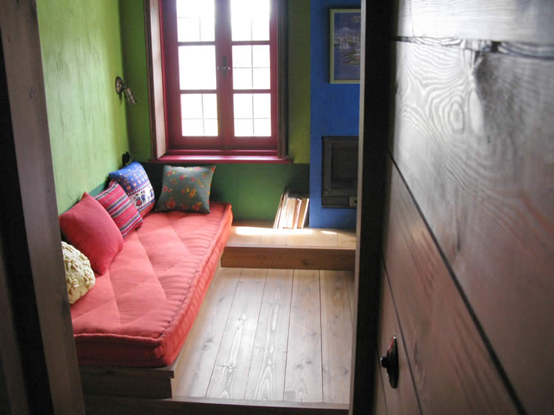 The rooms of the Guesthouse in Kato Pedina, Epirus, Greece, are cozy and inviting that will lift your spirits