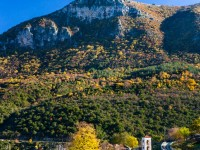 Aristi village in the Zagori, Greece