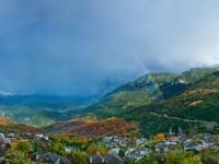 Aristi village in autumn