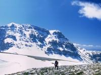 Astraka peak in Gamila Mt Tymfi, National Park of Vikos-Aoos, Greece