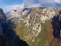 Oxya viewpoint above Vikos gorge in the Zagori region
