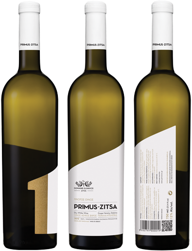 PRIMUS ZITSA | Colour: Bright golden with greenish nuances | Nose: The aromas are delicate, predominantly from apple, pear and hints of fresh white peach. The notes of citrus blossoms complement the excellent aromatic profile | Mouth: Youthful taste with finesse and acidity which brings out the freshness of the fruits