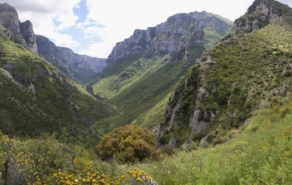 from vikos gorge