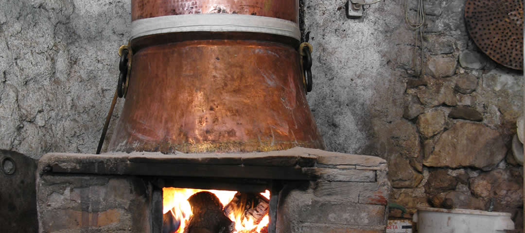 Two tsipouro distillations in one day!