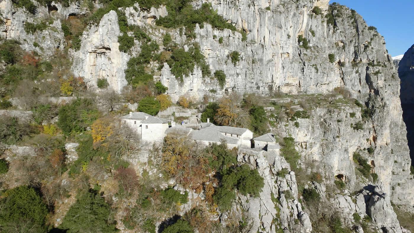 Agia Paraskeue monastery in Monodendri village