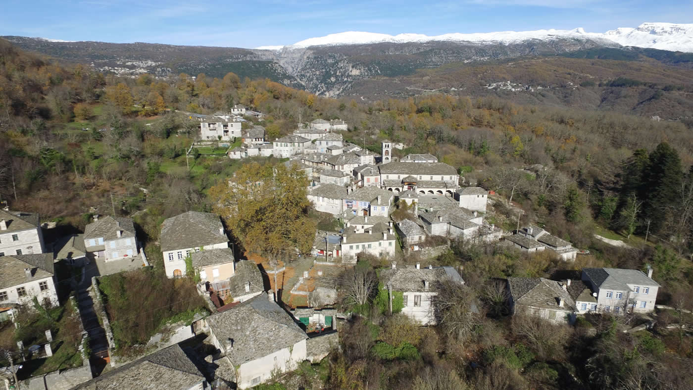Dilopho village from above ...