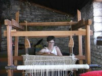 Rokka, agrotourism in the Zagori. Learning how to weave