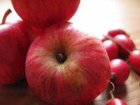 red crab apples in zagori