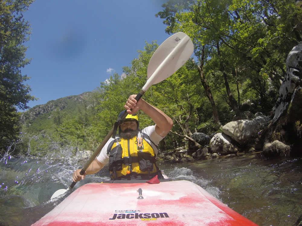 Kayak, Voidomatis river