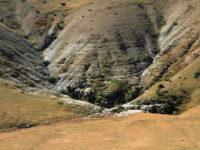 A geological sink in Vikos Aoos Geopark, Greece