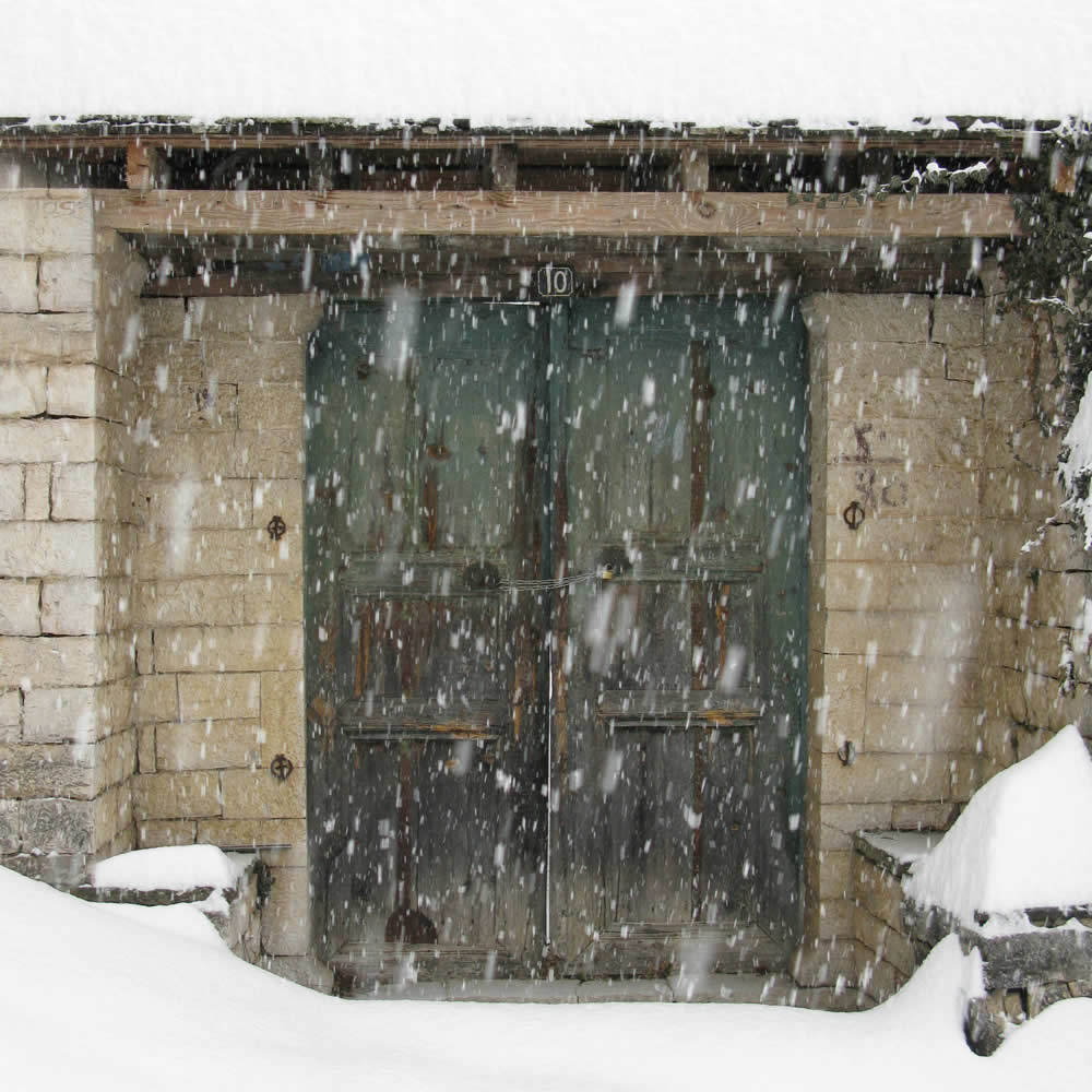Snow in Zagori