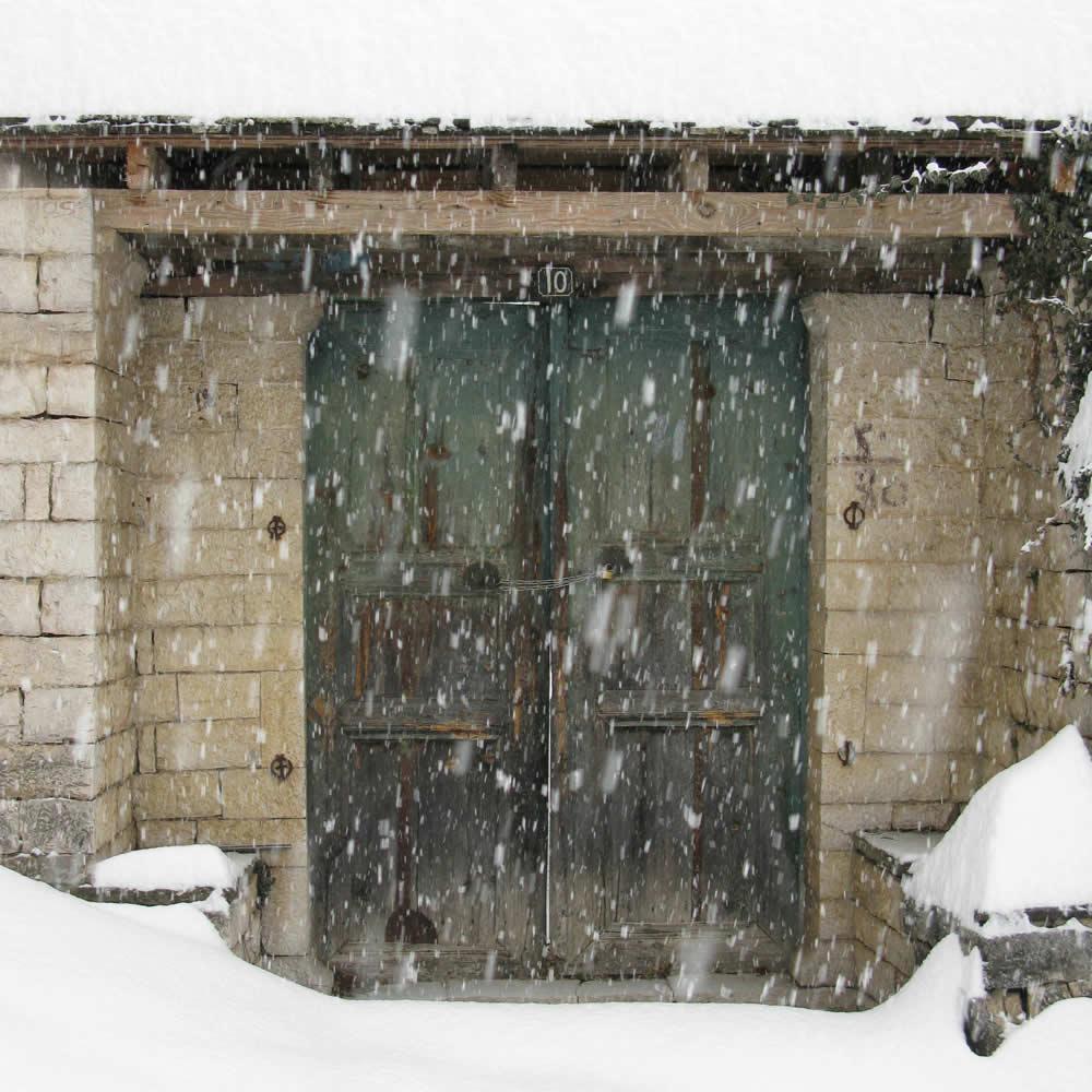 Snow in Zagori